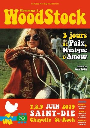 Samedi 8 Juin : (Tribute to) Joan Baez, Janis Joplin & Jimi Hendrix